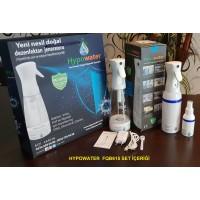 Hypowater FQB615 Taşınabilir Elektrolize Dezenfekte Edici Hijyen Su (Hipokloröz asit içerikli) Üretim Cihazı (400ml-USB besleme-Mikropartiküler sprey başlık)